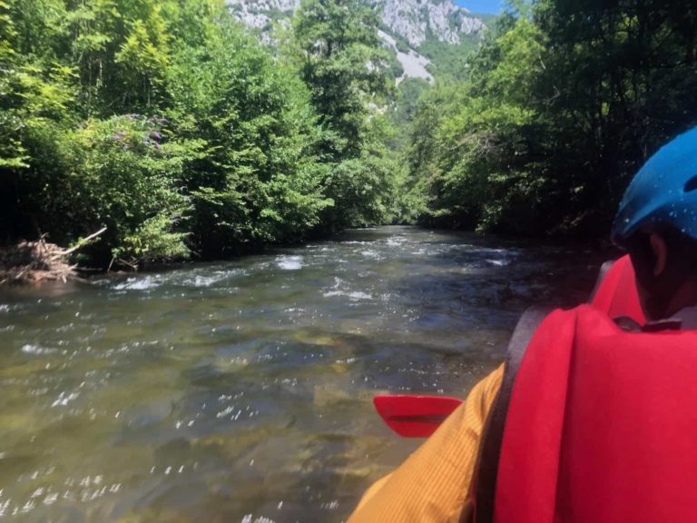 canyoning rivier camping Rennes-les-Bains