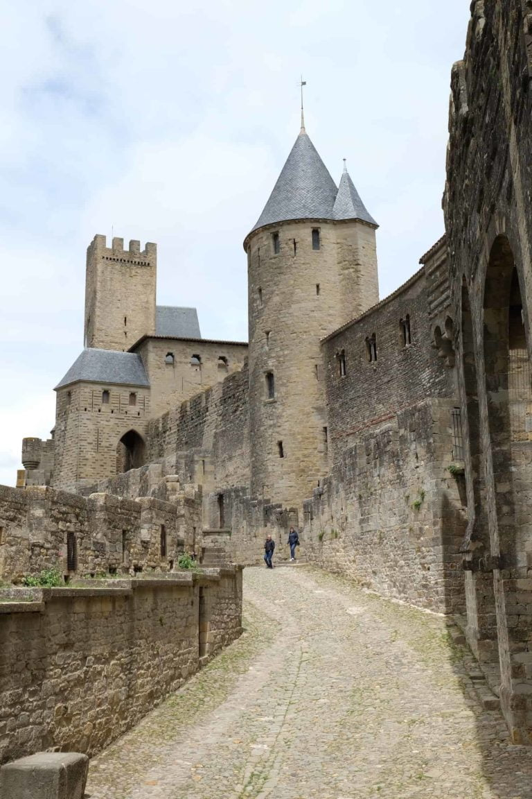 Carcassonne kasteel camping Rennes-les-Bains