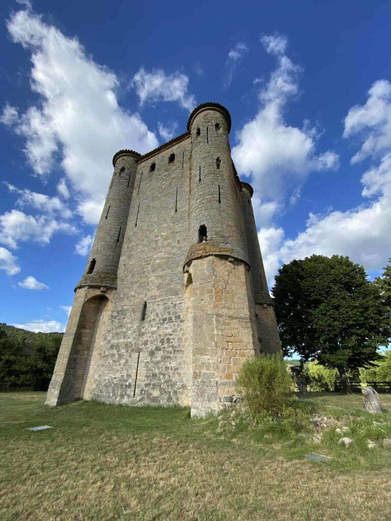 Kathaarse kastelen camping Rennes-les-Bains