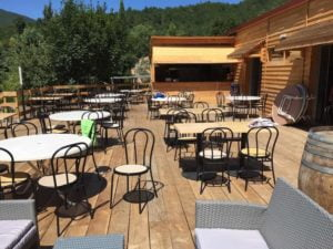 bar restaurant camping Rennes-les-Bains